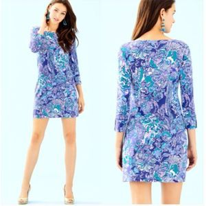 Lilly Pulitzer Sophie Dress Royal Purp Cat Call XL